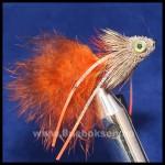 Muddler Longtail - Orange, Unique