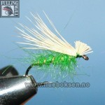 Elk Hair Emerger Green (Fulling Mill)
