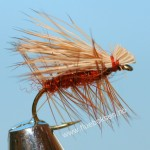 Elk Hair Caddis, orange