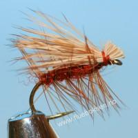 Elk Hair Caddis, orange