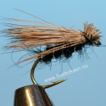 Elk Hair Emerger, black