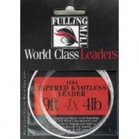 Fulling Mill Tapered Knotless Leader 9ft (fortom)