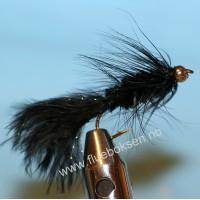 Goldhead, Woolly Bugger Black