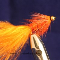 Goldhead, Woolly Bugger Orange