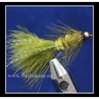 Goldhead, Woolly Bugger Olive