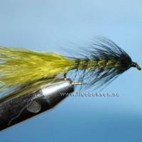 Woolly Bugger, Oliven/Sort