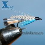 Teal Blue & Silver (våt) xfly