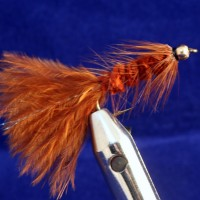 Goldhead, Woolly bugger Brown